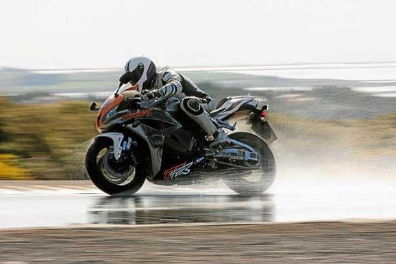 Pneumatici moto test