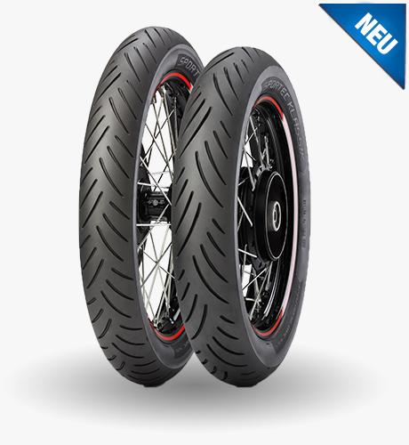 Metzeler presenta il nuovo pneumatico Sportec Klassik 2015