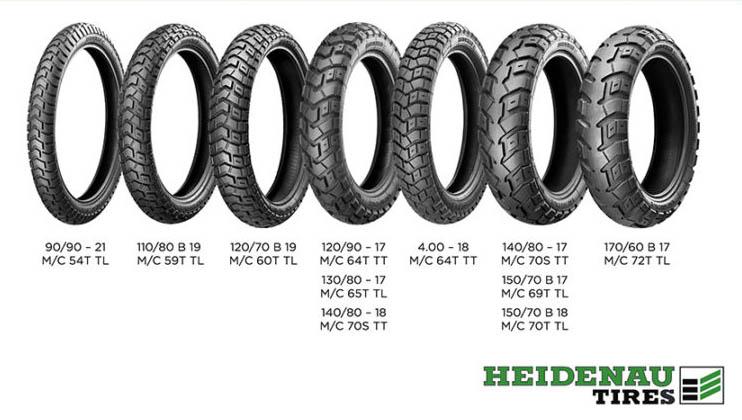 Heidenau K60 Scout caratteristiche