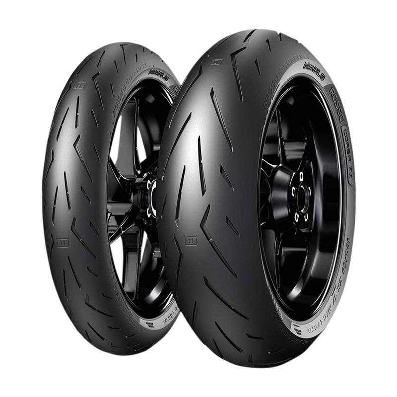 Rosso Corsa II gomme